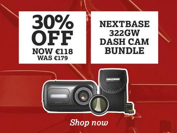 30% off Nextbase 322GW dash cam bundle